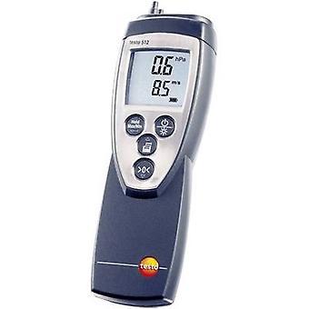 testo 512 (0...200hPa) Pressão de pressão pressão pressão de ar 0 - 200 hPa