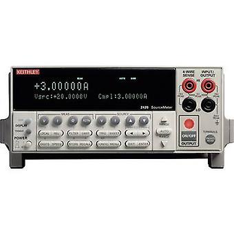 Keithley 2420 banc PSU (tension réglable) 0 - 60 V 0 - 3 60 W n des sorties 1 x