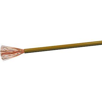 VOKA Kabelwerk H07VK25BR Flexible cable H07V-K 1 x 2.50 mm² Brown 100 m