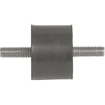PB Fastener 110005 Screw buffer External thread M4 Height 10 mm 1 pc(s)