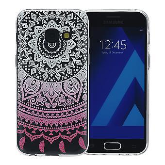 Henna cover for Samsung Galaxy S9 + case protective cover silicone Sun white