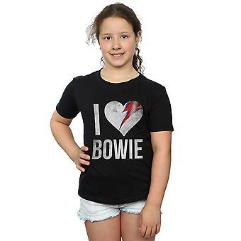 David Bowie flickor jag älskar Bowie T-Shirt