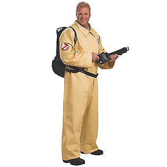 Ghostbuster Ghost Busters Movie Cartoon Mens Costume & Proton Backpack Plus