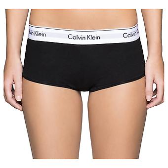 Calvin Klein moderni puuvilla Boyshort - musta