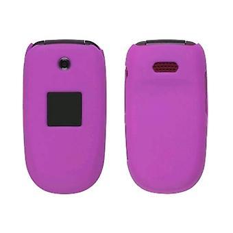 Soft Touch Snap-On fallet för Samsung R330 Stride - Hot Pink