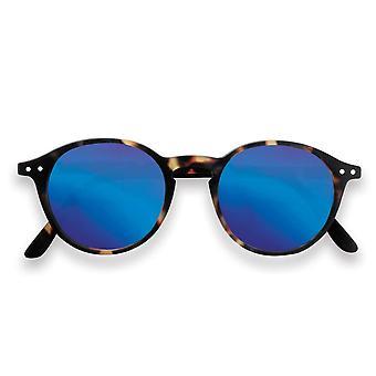 Słońce Letmesee IZIPIZI & czytania #d żółw z niebieskim soczewki okulary przeciwsłoneczne