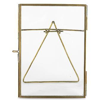 Nkuku Danta Antique Brass Photo Frame 8x10 - Bronze