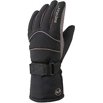 Manbi Kids raket handschoenen - zwart