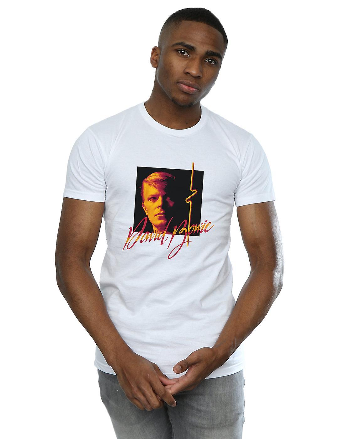 David Bowie Men's Photo Angle 90s T-Shirt