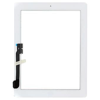 For iPad 4 - Digitizer Assembly - White - Premium Quality