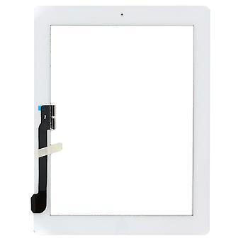 עבור iPad 3 - הרכבת דיגיטייזר - לבן - איכות פרימיום