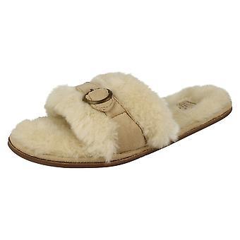 Ladies Gluv Slip on Open Toed Slippers Arden