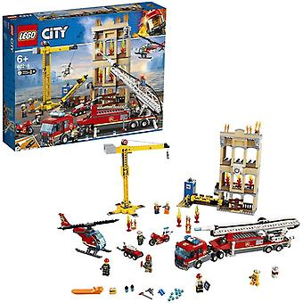 Lego City 60216 Brandweerkazerne in de Stad met Licht en Geluid