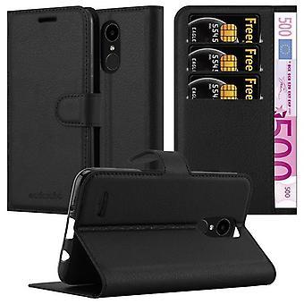 LG K4 2017ケースカバー用カドラボケース - 磁気留め金付き携帯電話ケース、スタンド機能とカードコンパートメント - ケースカバー保護ケースブック折りたたみスタイル