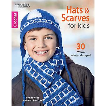 Hattar & halsdukar för barn - 30 varm vinter mönster av Rita Weiss - Mary
