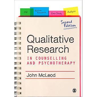 Qualitative Research in Counselling and Psychotherapy (2nd Revised ed
