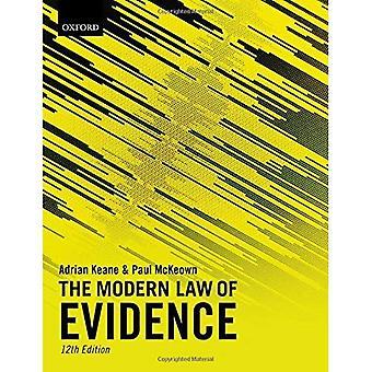 Das moderne Gesetz von Beweismitteln
