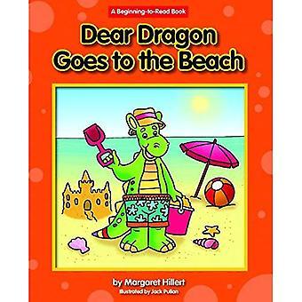 Kära Dragon går till stranden (början-att-läsa - kära Dragon)