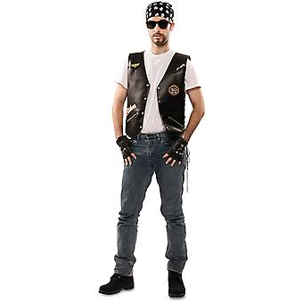 Rocker costume men's biker biker rocker costume