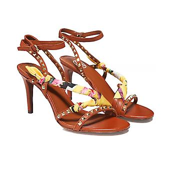 Ash Leather Heidi Heeled Sandals