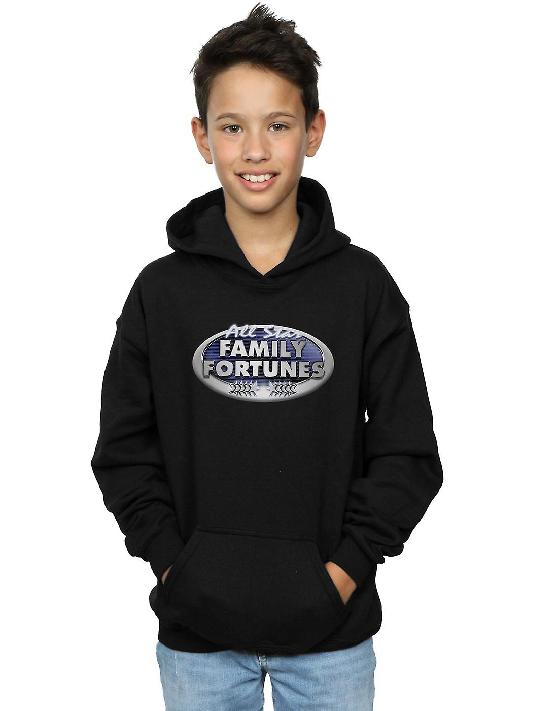 Family Fortunes Boys All Star Logo Hoodie