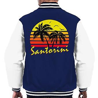 Santorini Vintage Sun mäns Varsity jacka