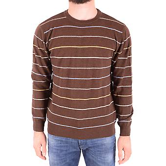 Gant Ezbc144005 Men's Brown Wool Sweater