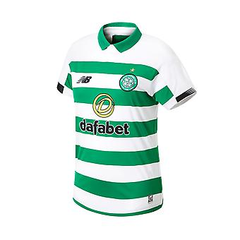 New Balance Celtic FC 2019/20 Womens Home Football Shirt White/Green