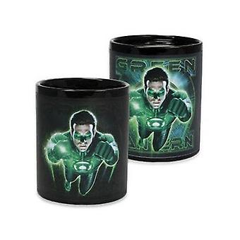 Green Lantern Colour Changing Thermal Mug