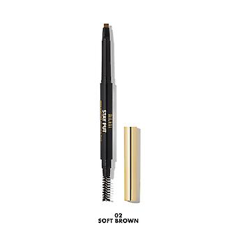 Milani Stay Put Brow Sculpting Mechanical Pencil - 02 Soft Brown