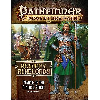 Pathfinder Adventure Temple of the Peacock Spirit Return of the Runelords 4 of 6