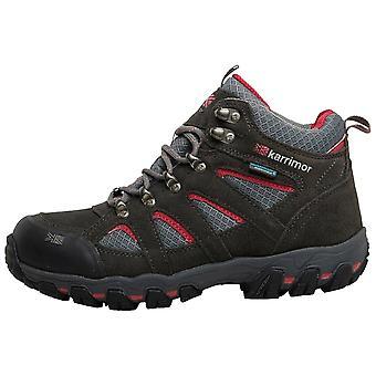 Karrimor Dark Grey Womens Bodmin MID 5 Weathertite botas para caminar