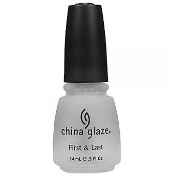 China Glaze First & Last Top Coat