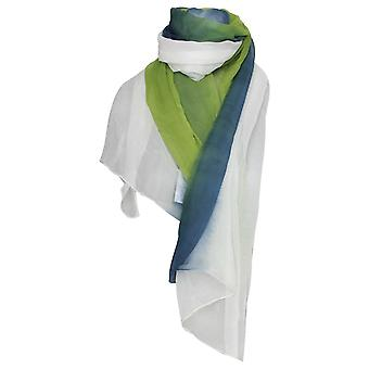 Marie Mero Tri Coloured Lightweight Long Scarf