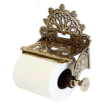 Brass Toilet Roll Holder bello e forte