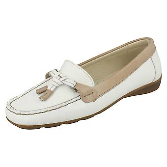 Ladies Van Dal Casual Loafer Shoes With Tassle Detail Clovis
