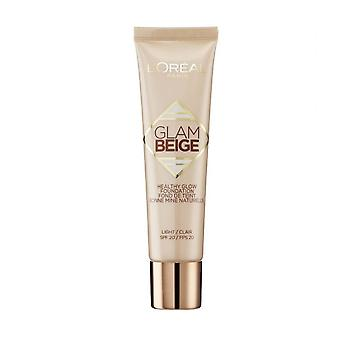 L'Oreal Glam Beige Healthy Glow Foundation