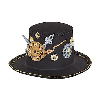 Bristol Novelty Unisex Adults Steampunk Mini Top Hat