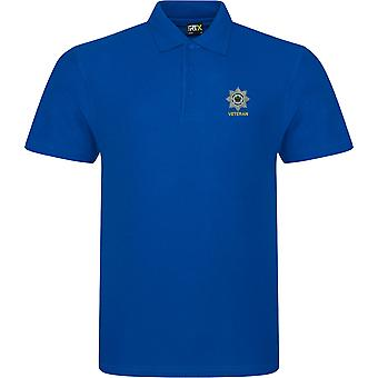 4th/7th Royal Dragoon Guards veteran-licenseret British Army broderet RTX Polo