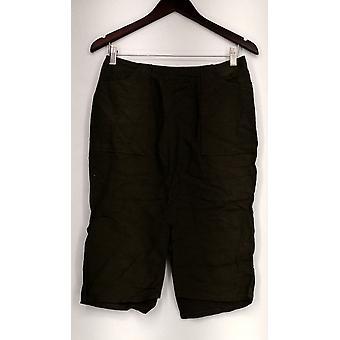 Who What Wear Skirt Front Back Slits Back Zipper Green