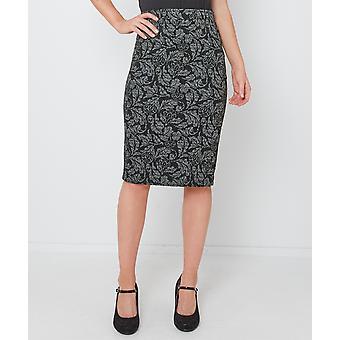Joe Browns kvinnors blommig Jacquard Print kjol