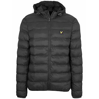 Lyle & Scott Black Lightweight Pufferjacke