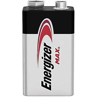 Energizer Max 6LR61 9 V/PP3 batteri alkali-mangan 9 V 1 PC (er)