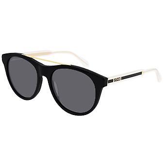 GUCCI GG0559S preto/dourado/cinza cristal