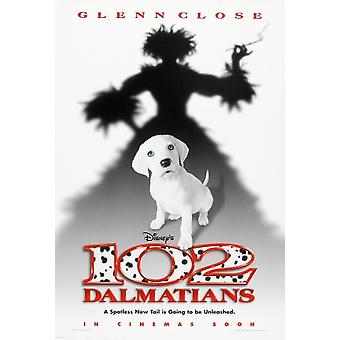 102 Dalmations (Double Sided Advance) (2000) Original Cinema Poster