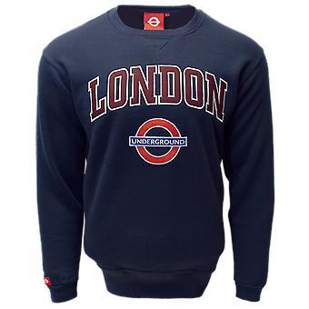 TFL™ 201 licenciado unisex London applique Underground™ camisola