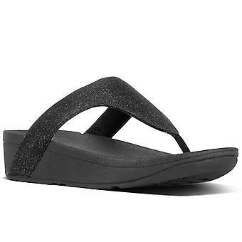FitFlop™ Lottie Glitzy Womens Toe Post Sandals