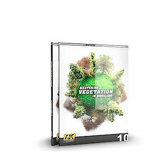كتاب -- الطائرات والنماذج AK التعلم -- اتقان الغطاء النباتي في النمذجة كتاب Softback