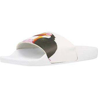 The White Brand Sandals Toucan Color White