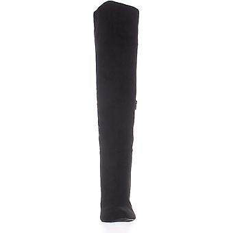 Material Girl Candice Dress Boots Black Size 5M